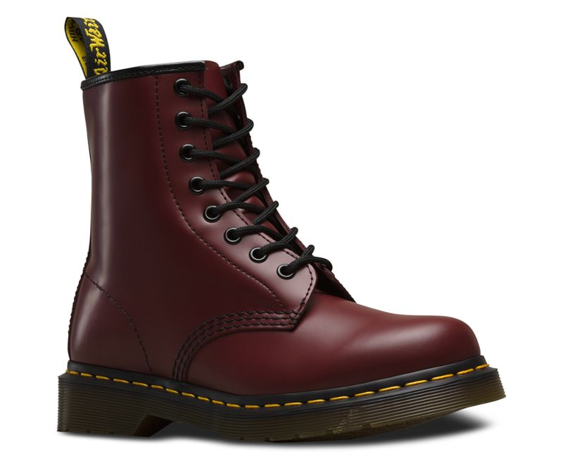 Original-Classic-Doc-Dr-Martens-8-Loch-1460-Smooth-Cherry-Red-11822600