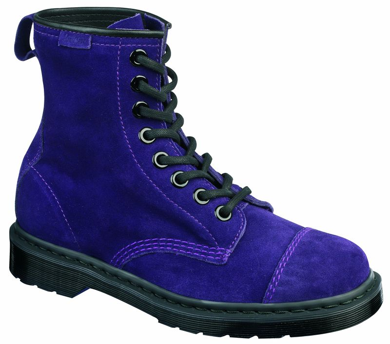 original classic doc dr martens 8 hole carey purple. Black Bedroom Furniture Sets. Home Design Ideas