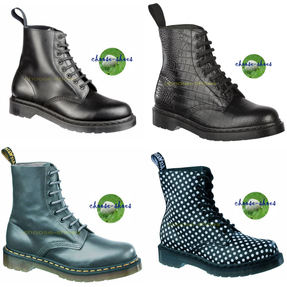 doc dr martens 8 l stiefel 1460 pascal ebay. Black Bedroom Furniture Sets. Home Design Ideas